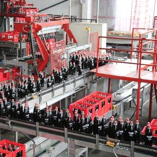 Coca-Cola Gazzede 4.fabrikasını açtı