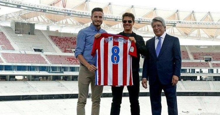 Tom Cruise, Atletico Madrid'de!