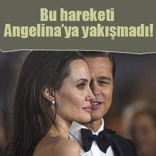 Angelina Jolie sözünü unuttu!