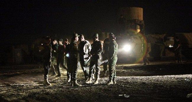 ABD askerleri Zerdek Dağı'na konuşlandı