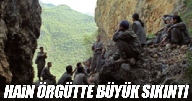 TERÖR ÖRGÜTÜ PKK'DA BÜYÜK SIKINTI