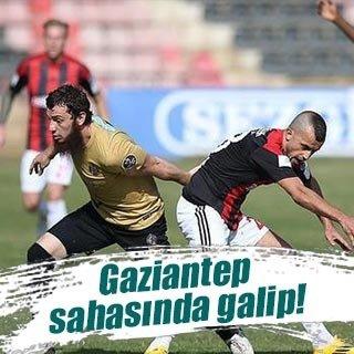 Gaziantepspor sahasında galip
