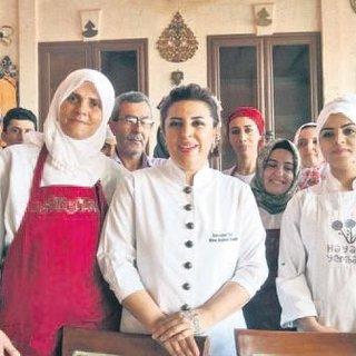Mardin'in gastronomi kraliçesi dünyaya açıldı