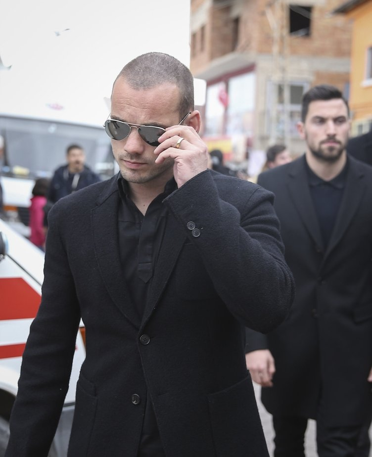 Wesley Sneijder'den şok sözler