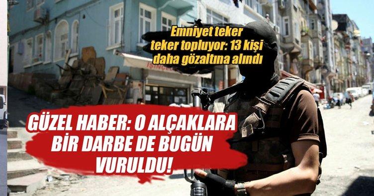 İstanbul'da dev uyuşturucu operasyonu: 13 gözaltı