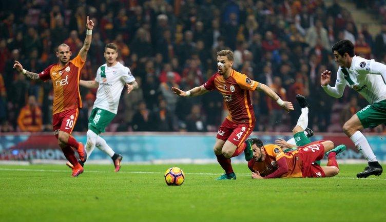 Galatasaray-Bursaspor maçından kareler