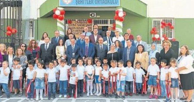 Şehitler ilkokuluna ÇESVAK'tan destek
