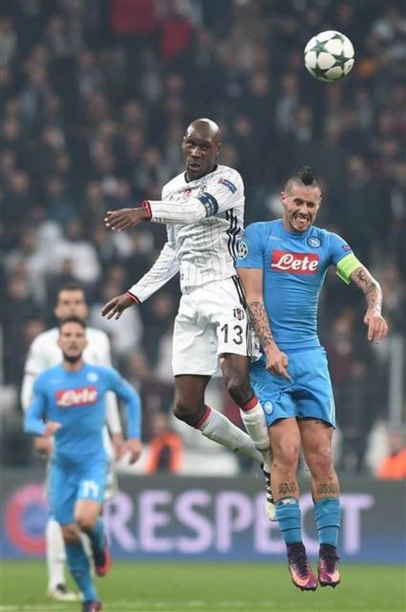 Beşiktaş-Napoli maçından unutulmaz fotoğraflar