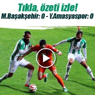 Medipol Başakşehir-Yeni Amasyaspor maç sonucu