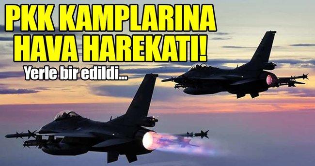 TSK'DAN IRAK'IN KUZEYİNE HAVA HAREKATI!