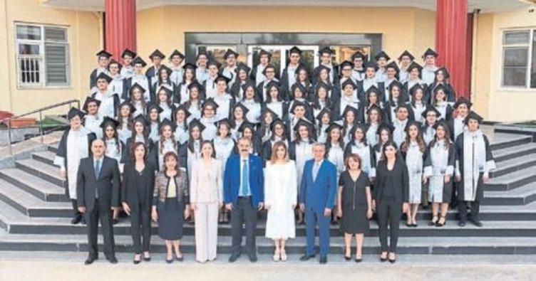SANKO Okulları'nda mezuniyet coşkusu