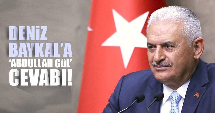 Başbakan'dan Baykal'a 'Abdullah Gül' cevabı