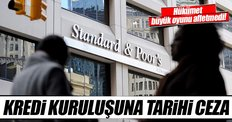 Standard & Poor's'a tarihi ceza!