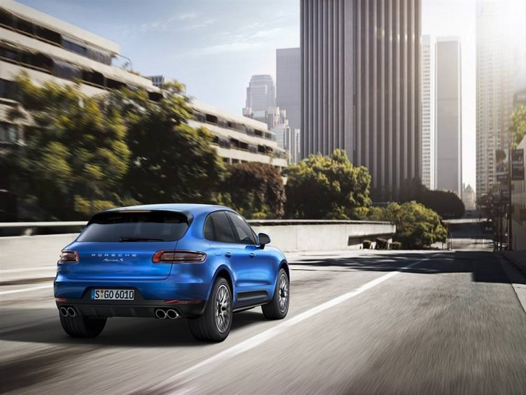 Yeni Porsche Macan