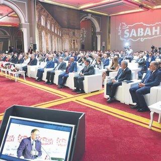 SABAH inşaat sektörünün devlerini İzmir'de bir araya getirdi