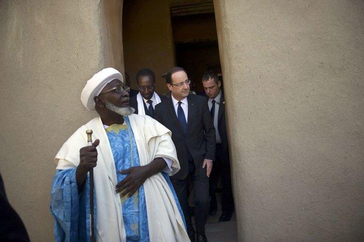 Hollande Mali'de