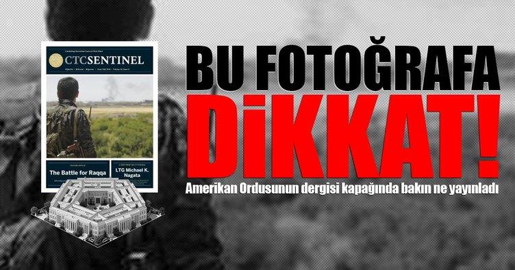 ABD ordusu teröristbaşını dergiye kapak yaptı!