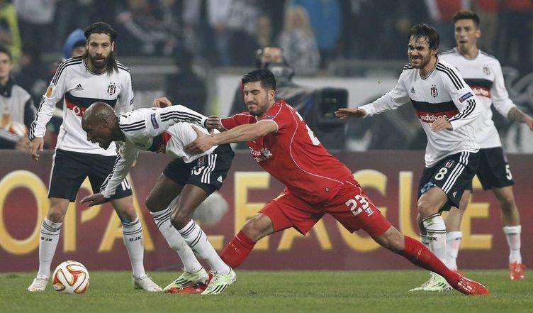 Beşiktaş-Liverpool maçından kareler
