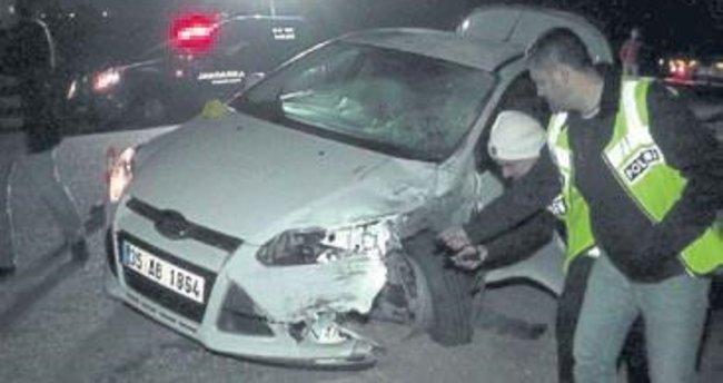 O kazayı yapan sürücü teslim oldu
