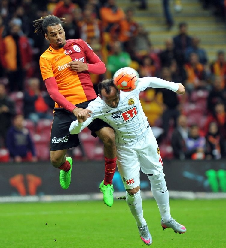Galatasaray-Eskişehirspor maçından kareler
