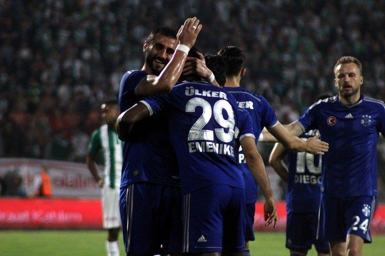 Bursapor - Fenerbahçe maçından kareler