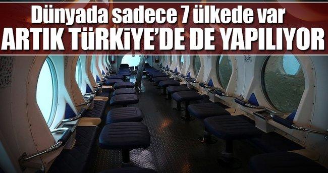 ARTIK TÜRKİYE'DE DE YAPILIYOR