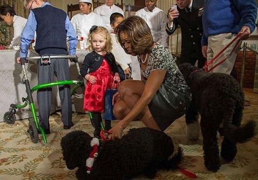 Obama'nın yaramaz köpeği