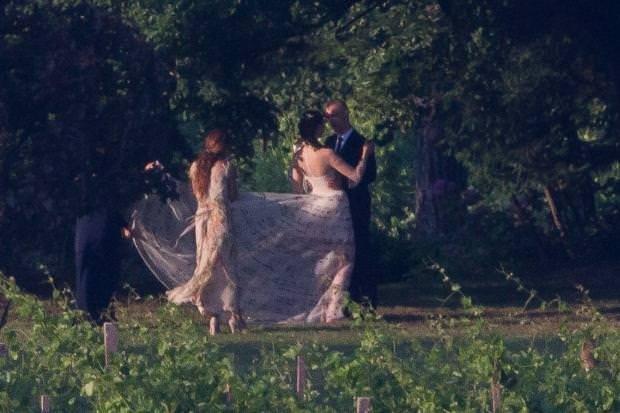 Eros Ramazzottı'nin düğünü