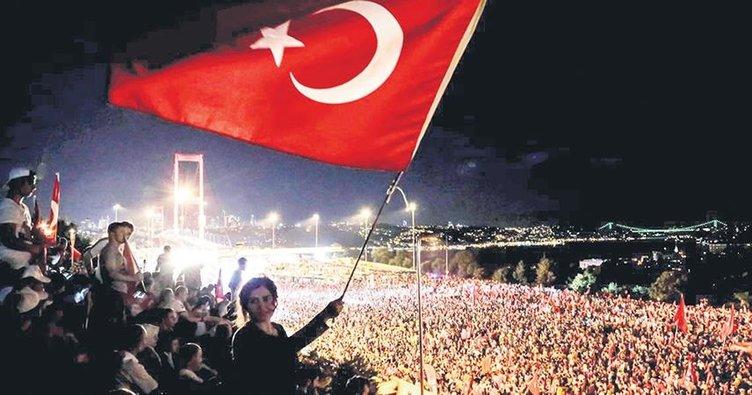15 Temmuz Türk Milletinin yeniden doğuş günüdür