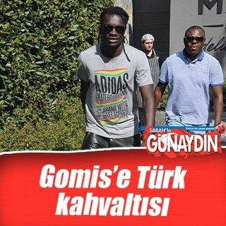Gomis'e Türk kahvaltısı
