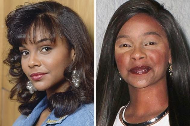 Akıllara zarar makyajlarıyla 24 ünlü kadın