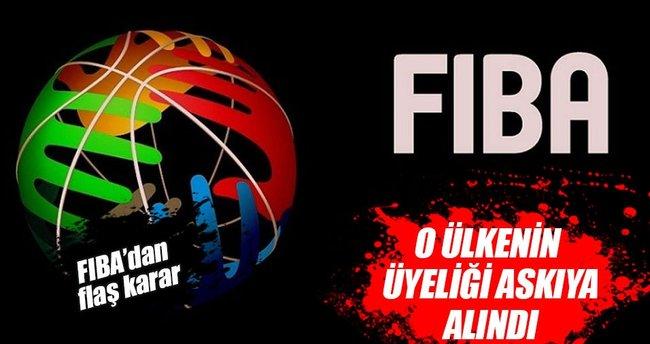 FIBA, Brezilya Basketbol Federasyonunun üyeliğini askıya aldı