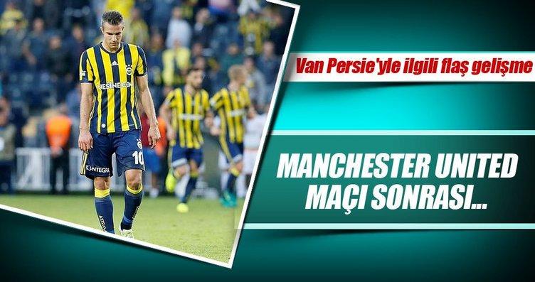 Van Persie'nin transferi ciddiye bindi!