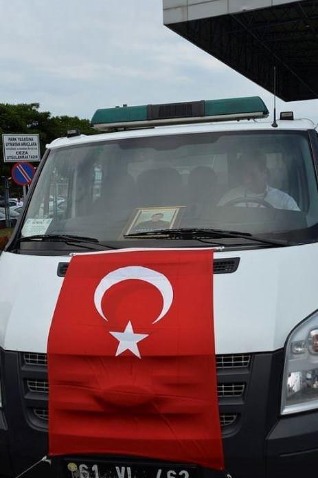 Şehit Komiser Ahmet Çamur'un cenazesi
