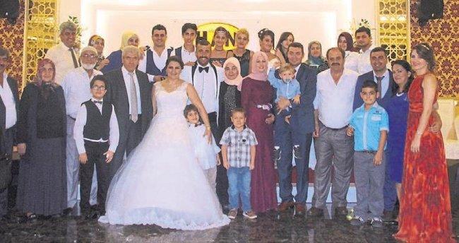 Hanifi ve Gülhan dünya evine girdi