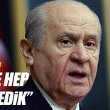 MHP Genel Başkanı Bahçeli'den flaş açıklamalar
