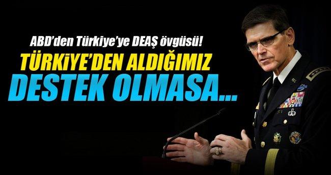 ABD'den Türkiye'ye DEAŞ övgüsü