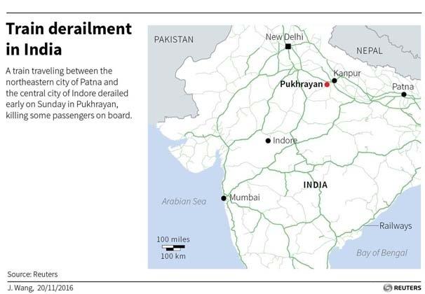Hindistan felaketi yaşadı: 100'e yakın kişi öldü