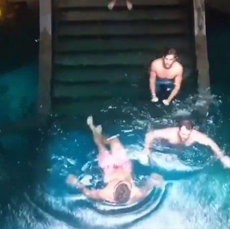 Böyle havuz gördünüz mü?