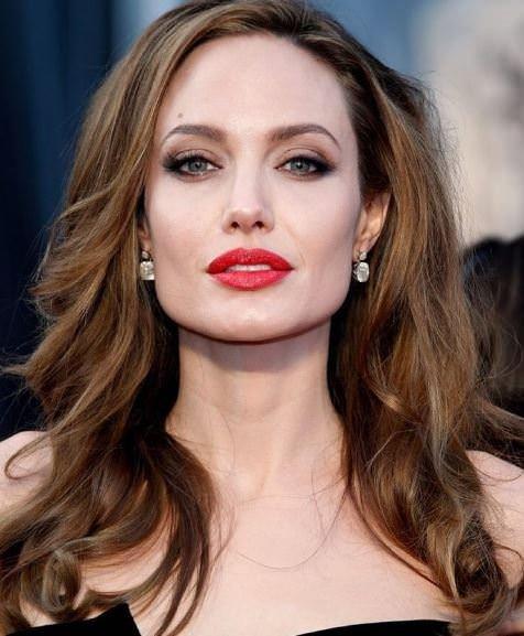 Brad Pitt'in objektifinden Angelina