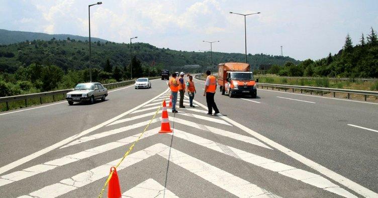 Bolu Dağı'nda TEM'in Ankara yönü ulaşıma kapatıldı