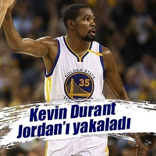 Durant, efsane Jordan'ı yakaladı!