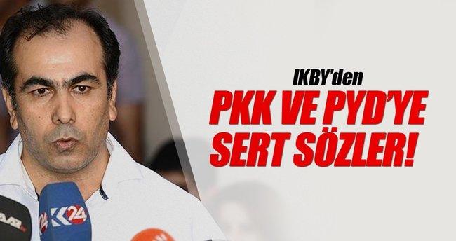 IKBY'den PKK ve PYD'ye sert sözler!