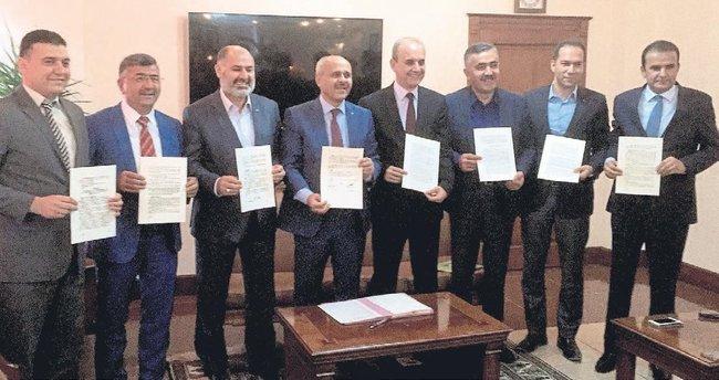 Tıp fakültesi için protokol imzalandı
