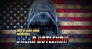 ABD'deki siber saldırıyı 'New World Hackers' üstlendi!