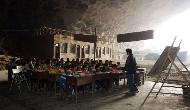 Dünyanın en tuhaf okulları