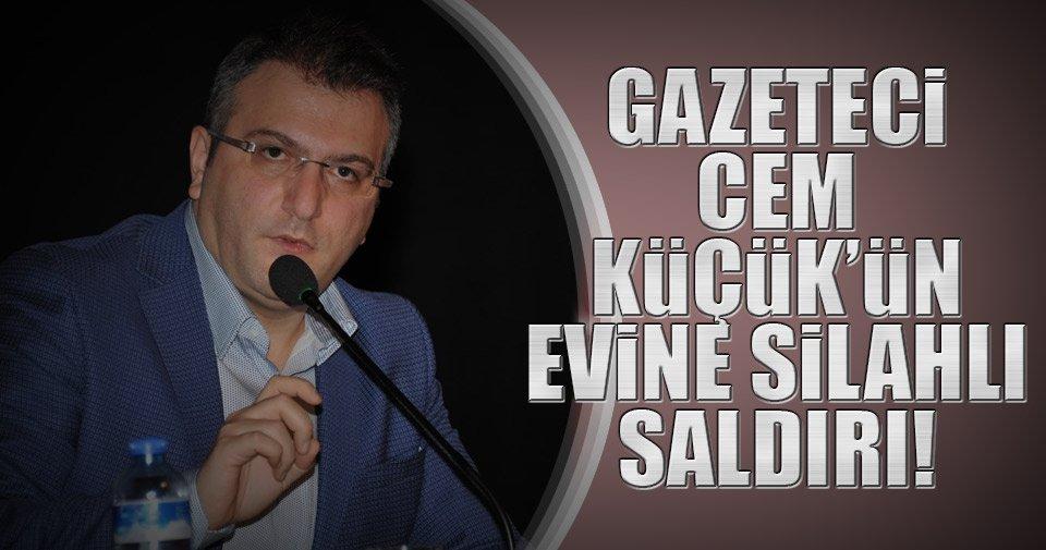 Son dakika: Gazeteci Cem Küçük'ün evine silahlı saldırı
