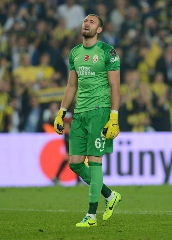 Fenerbahçe - Galatasaray maçından kareler