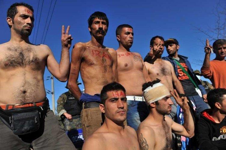 Avrupa'nın göbeğinde insanlık ölmüş dedirten kareler