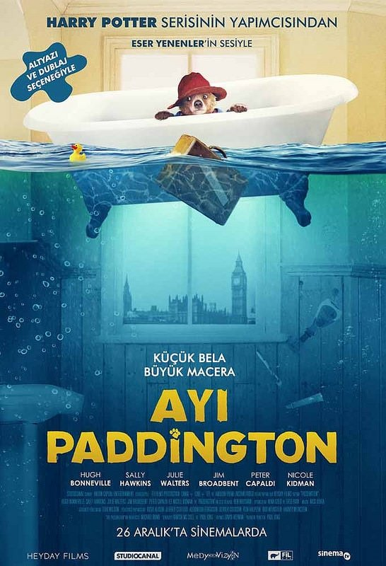 Ayı Paddington filminden kareler